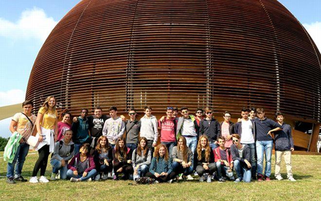 Gli studenti del Marconi di Tortona al Cern di Ginevra