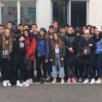 Gli alunni del Carbone di Tortona in visita alla Centrale del latte di Alessandria