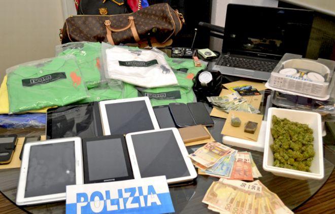 Valenza nordafricano arrestato per droga. Sequestrata dalla Polizia