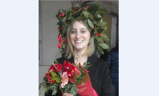 Festa in biblioteca a Gremiasco per la laurea di Valeria Bernini