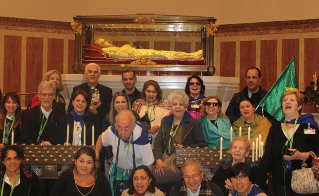 Dal Brasile a Tortona per vedere la Madonna della Guardia