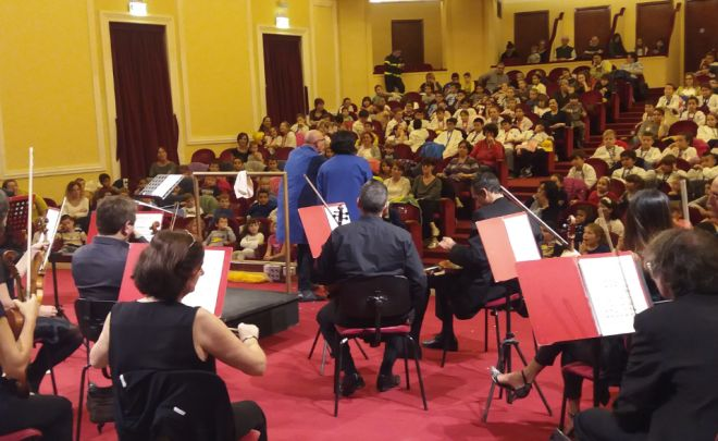 Grande successo ai concerti per le scuole dell'orchestra di Sanremo con oltre 1.500 giovani