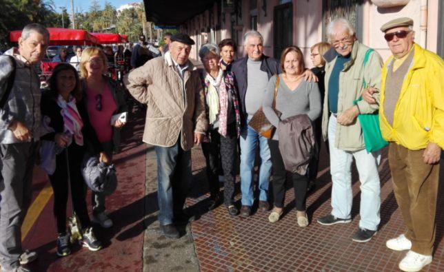 I pensionati di Sanremo hanno organizzato una camminata per non invecchiare