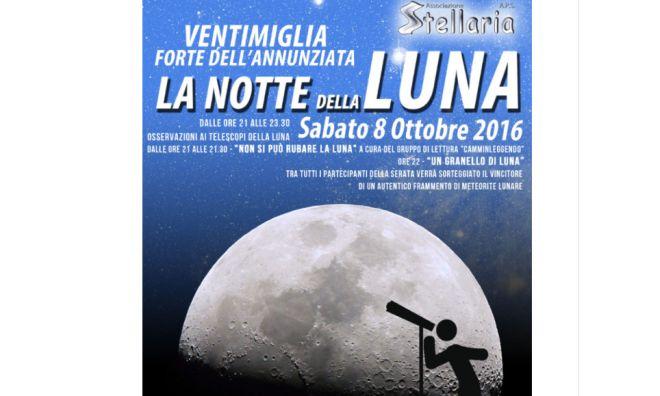 A Ventimiglia c'è la notte della luna
