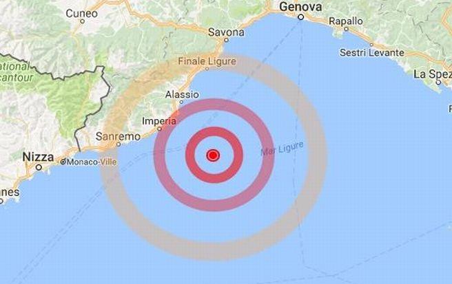 Due scosse di terremoto in mare avvertite nel Golfo Dianese, ma senza danni. L'avete sentito? Scriveteci