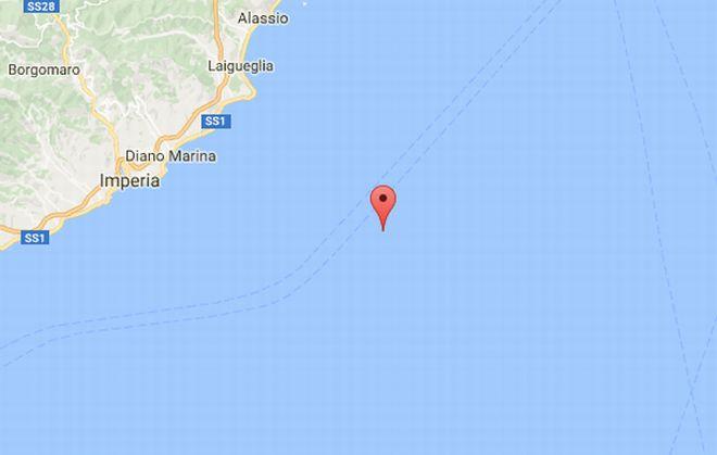 Terza e quarta scossa di terremoto in mare domenica: verso le 2 e prima di mezzogiorno. Non c'è pericolo