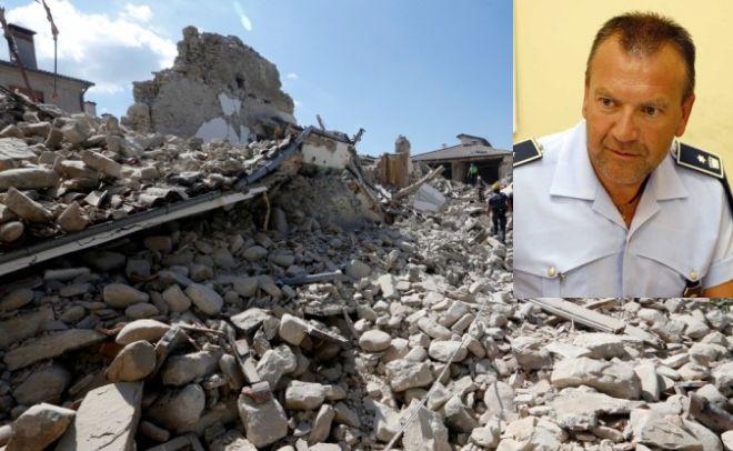 Il dianese Franco Mistretta si recherà sui luoghi del terremoto per aiutare a risolvere i problemi
