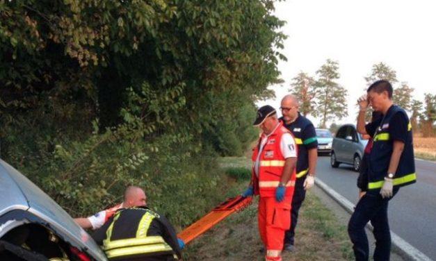 Un uomo ferito per un incidente stradale a Gavi