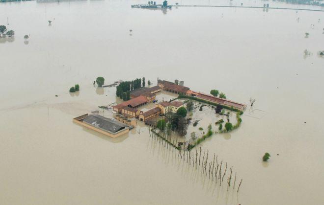 Esonda il Tanaro ad Alessandria, case e aziende allagate, 30 persone intrappolate, centinaia di animali nell'acqua