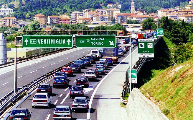 Le previsioni del traffico nel week end sull'Autostrada dei Fiori