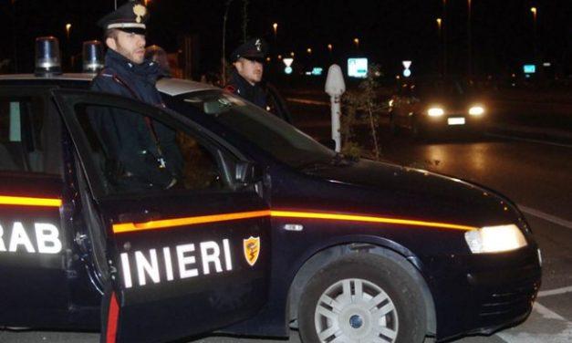 Tre arresti dei Carabinieri a Ospedaletti e Taggia per furto e di Triora dove un giovane aveva 6 fucili con ottiche di puntamento