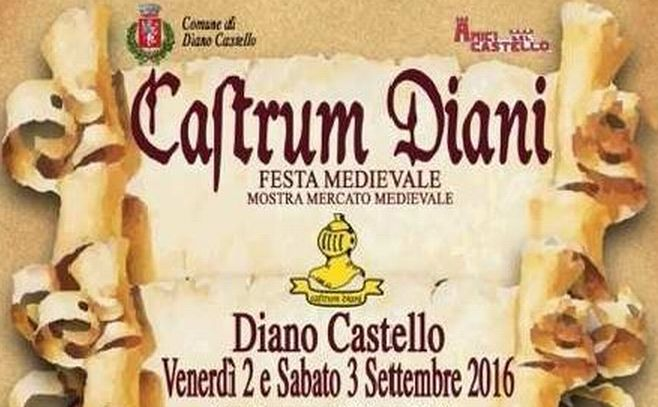 E' costata un contributo di soli 1.650 euro la festa medioevale a Diano Castello