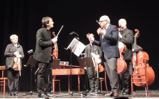 Strepitoso concerto di apertura della stagione di musica a Tortona: Rimonda suona il violino alla grande