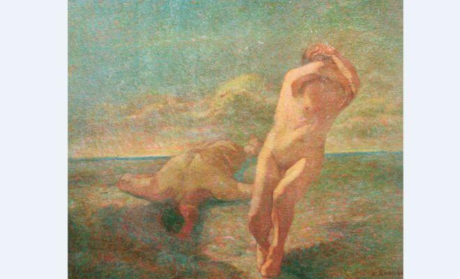 """La """"Dannazione"""" di Angelo Barabino sarà esposta nella biblioteca di Tortona"""
