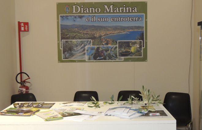 Il Comune di Diano Marina presente a Olioliva per valorizzare prodotti locali e territorio. Uno dei pochi