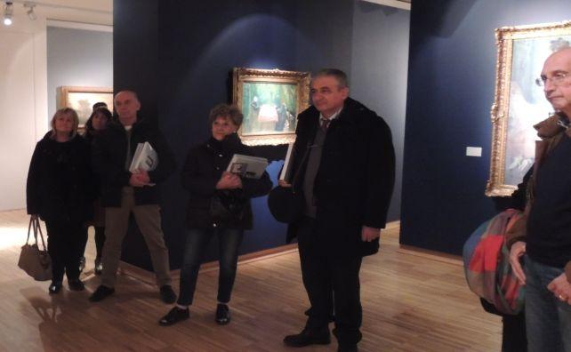In tantissimi a ritirare il libro su Barabino e visitare la Pinacoteca della Fondazione Cassa di Risparmio di Tortona