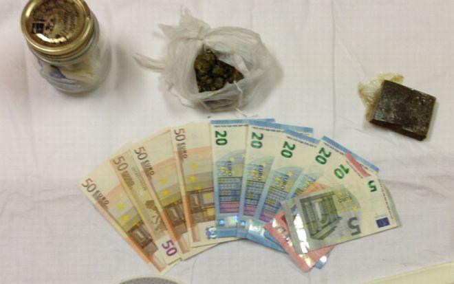 I Carabinieri di Acqui sequestrano soldi e droga a un marocchino di Strevi