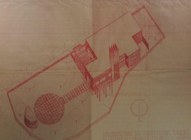 Il progetto per il castello