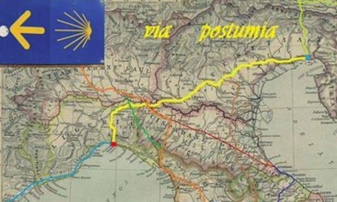 Oggi si presenta un pezzo di storia Tortonese, la via Postumia. Domani (forse) se ne percorre 12 Km