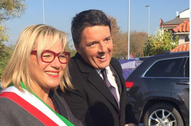 Con Rita Rossa