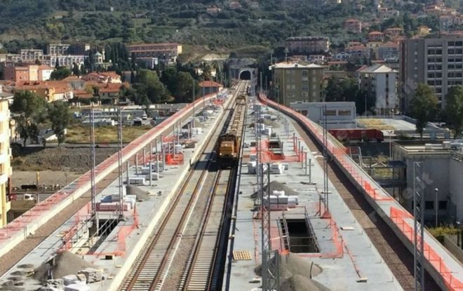 I Politici liguri in viaggio inaugurale sulla nuova Linea Andora – San Lorenzo