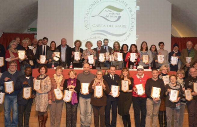Imperiesi anche tra i Protagonisti della Carta del Mare premiati al Galata Museo del Mare di Genova