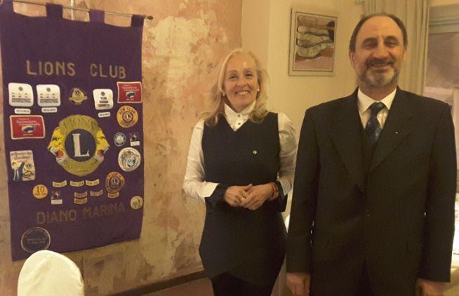 """I Lions di Diano Marina, Nava e Nizza hanno aiutato la Fondazione """"Banca degli Occhi"""""""