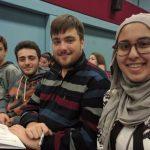 Gli studenti Tortonesi del Marconi alla manifestazione sulla stampa studentesca