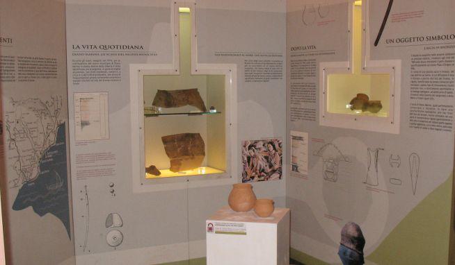 Gli studenti del polo universitario di Imperia in visita al museo civico di Diano Marina