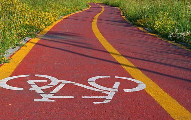 Una nuova pista ciclabile in corso Giovane Italia a Casale Monferrato