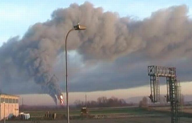 Incendio alla raffineria di Sannazzaro, la testimonianza di Brunetti a Castelnuovo Scrivia