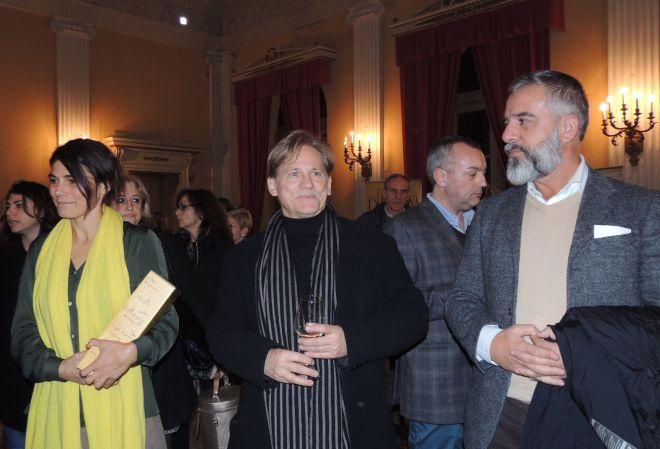 """Tutto esaurito al """"Civico"""" di Tortona per Giulio Scarpati e Valeria Solarino che piange con lacrime vere in una grande interpretazione!"""