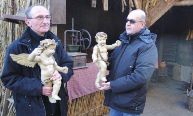 Restituiti alla parrocchia i due angeli rubati a Castelnuovo Scrivia un mese fa. Il ladro si è pentito dopo Natale