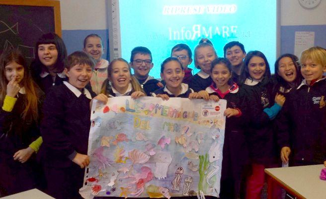 """I bambini di Diano Marina hanno scoperto le bellezze del mare dianese con l'Associazione """"Informare"""""""