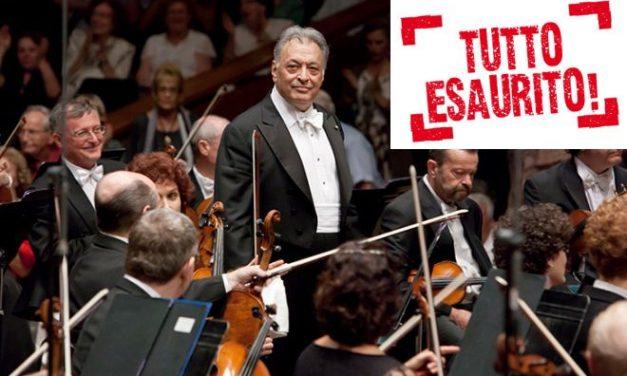 Esauriti in un giorno i 600 biglietti per il concerto di Zubin Metha a Tortona, ci si sta attrezzando per il Civico