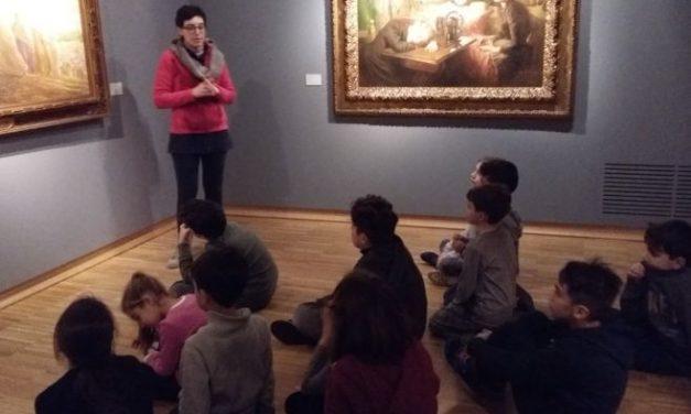 """I bambini del Centro invernale """"Piccolo principe"""" hanno imparato a conoscere i luoghi più importanti di Tortona./Le immagini"""