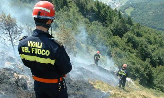 Serie di incendi nel novese ad Arquata Scrivia, Borghetto e val Borbera, si pensa ad un piromane