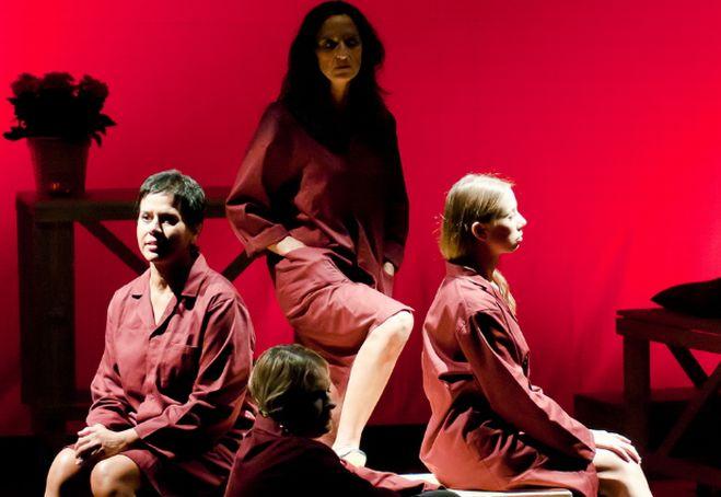 A Taggia uno stage del teatro del banchero con  Marcello Prayer e il metodo mimico