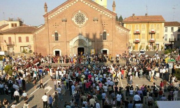 Atto di vandalismo contro la chiesa parrocchiale di Castelnuovo Scrivia