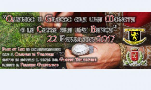 """Mercoledì a Tortona i giovani imparano a coniare il """"Grosso"""" con l'Associazione Flos et Leo."""