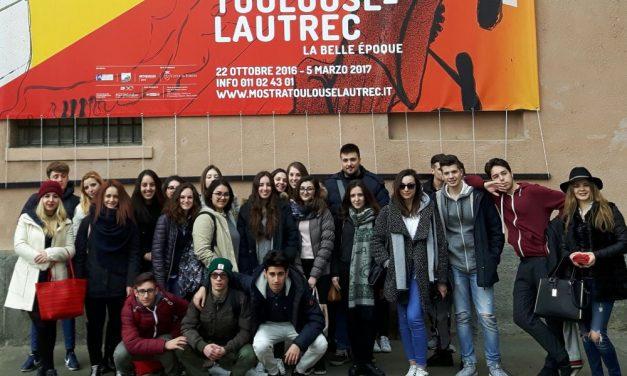 Gli studenti tortonesi del Marconi a Torino per imparare l'arte della pubblicità
