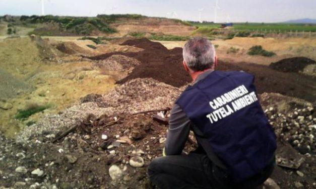 I Carabinieri del Noe di Alessandria denunciano un'azienda di movimento terra e recupero rifiuti