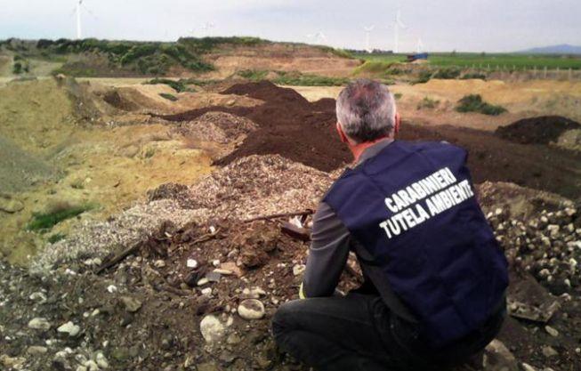 Impianto di trattamento rifiuti del Tortonese non a norma, il gestore denunciato dai carabinieri del Noe