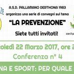 Mercoledì a Tortona si parla di sport e medicina con la Derthona pallamano