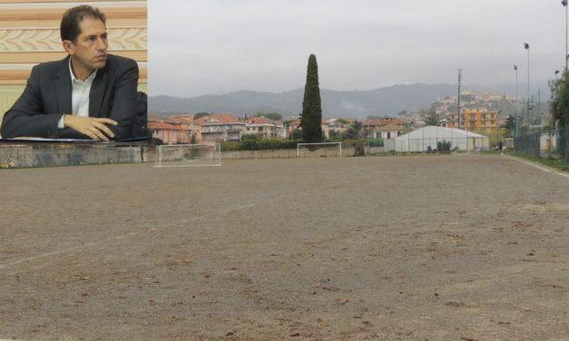 Approvato il progetto finale per il nuovo campo di calcio a Diano Marina, costerà 580 mila euro. A breve il via ai lavori