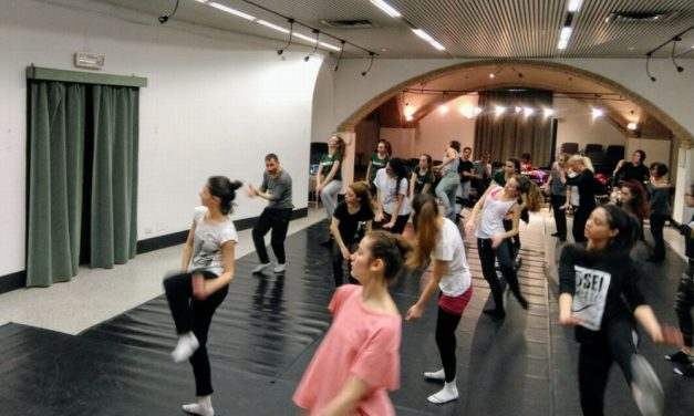 40 giovani tortonesi hanno partecipato a due Masterclass col maestro internazionale di danza Michele Merola al teatro Civico