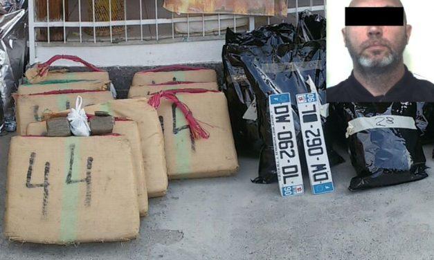 A Cervo i Carabinieri arrestano un torinese che nascondeva 360 Kg di droga in una villetta