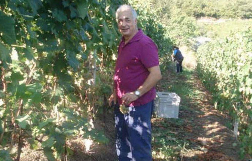 """Il premio """"Viticoltore etico"""" a Giovanni Massa dell'azienda agricola """"Il Cascin"""" di Cesio"""