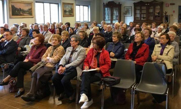 """la Comunità Pastorale """"Paolo VI"""" di Lonate in visita al santuario della Madonna della Guardia"""