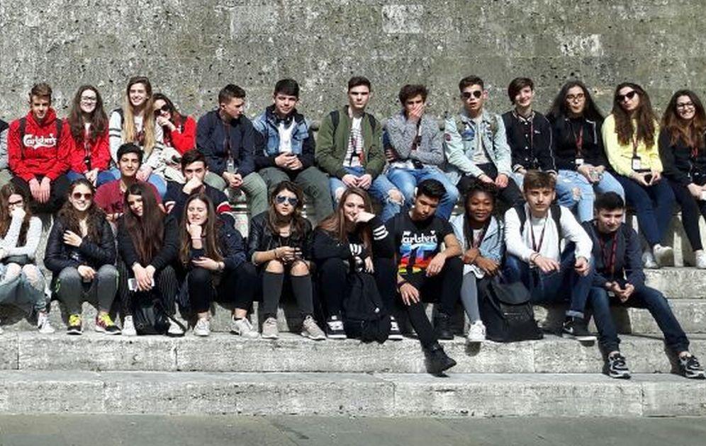 Una visita di istruzione in Toscana per gli studenti del Marconi di Tortona